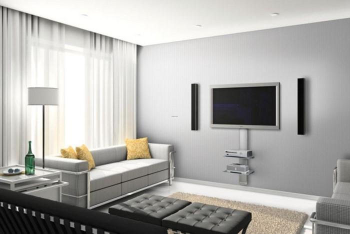 wohnzimmer grau eine super gestaltung - Wohnzimmer Grau