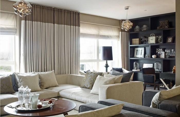 Design : Wohnzimmer Grau Creme ~ Inspirierende Bilder Von ... Creme Graues Wohnzimmer
