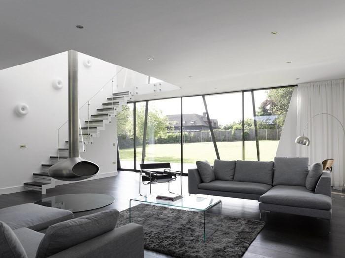 Wohnzimmer In Grn Und Grau Home Design Inspiration Wohnzimmer Weis ... Dekoration Wohnzimmer Grun