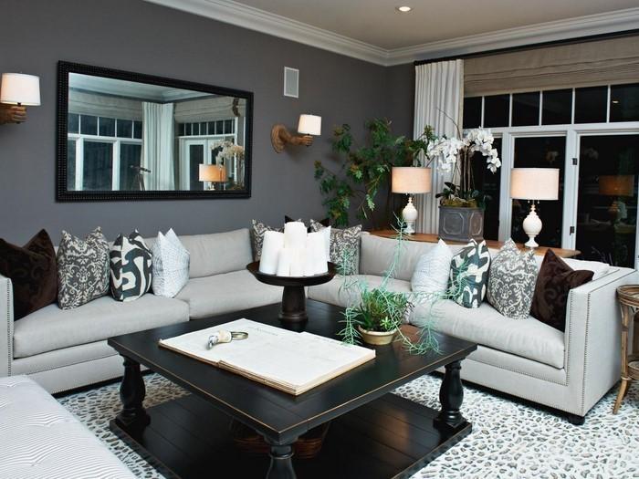 Wohnzimmer-grau-Eine-wunderschöne-Ausstrahlung