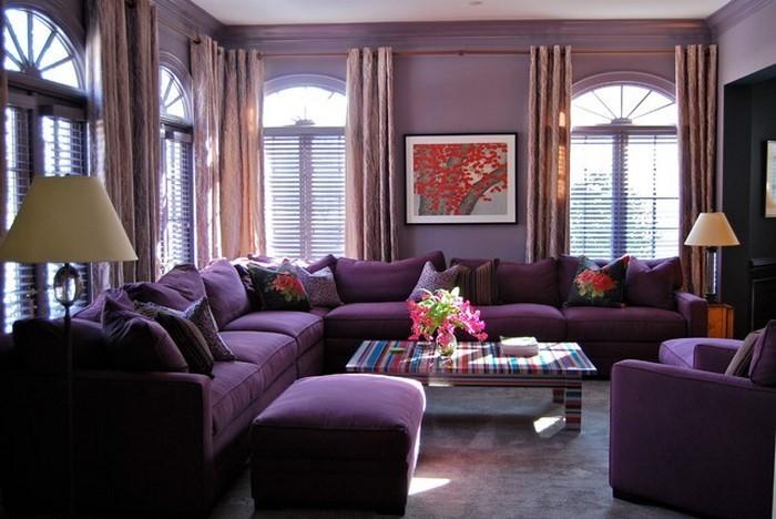 Wohnzimmer-lila-Eine-kreative-Entscheidung