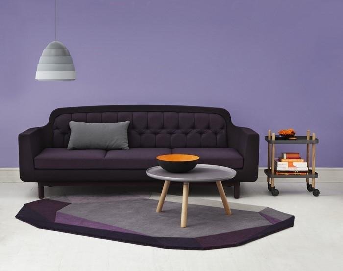 design : wohnzimmer lila weiß ~ inspirierende bilder von .... deko ... - Moderne Wohnzimmer Lila