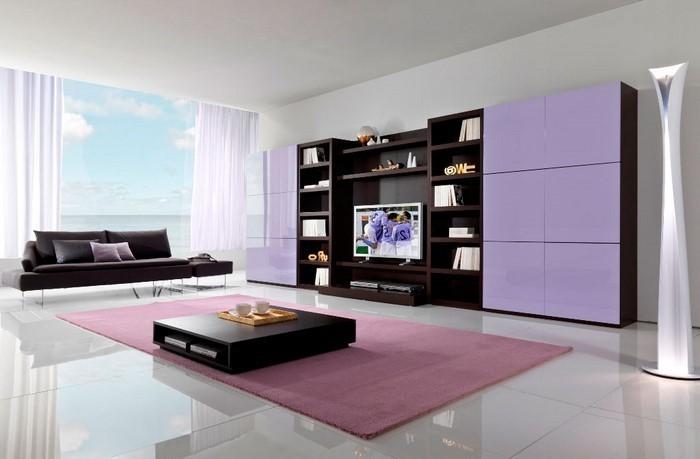 Design : Wohnzimmer Lila Grün ~ Inspirierende Bilder Von ... Dekoration Lila Grn Wohnzimmer