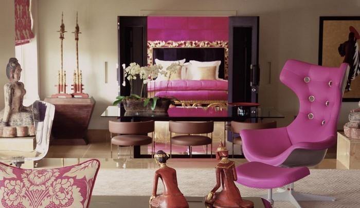 Wohnzimmer-lila-Eine-tolle-Ausstrahlung