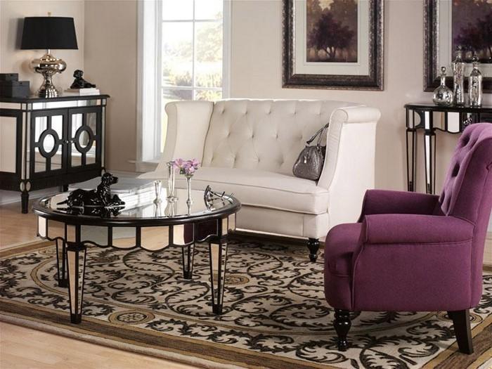 wohnzimmer deko lila:Wohnzimmer lila: Wohnzimmer Wohnideen- Lila