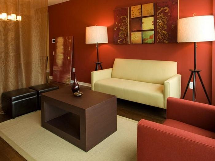 design : wohnzimmer design rot ~ inspirierende bilder von ... - Bilder Wohnzimmer Rot