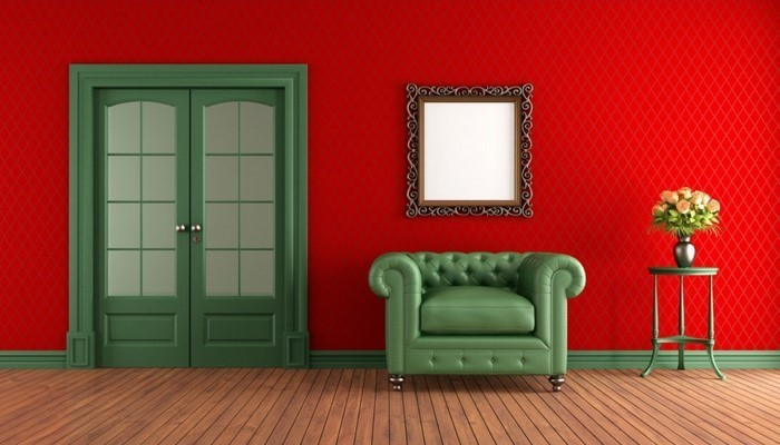 Wohnzimmer-rot-Ein-kreatives-Interieur