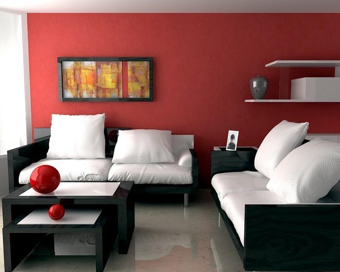 Wohnzimmer-rot-Ein-wunderschönes-Design