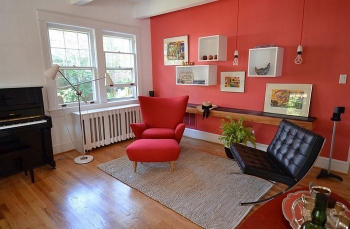 Wohnzimmer-rot-Eine-außergewöhnliche-Ausstattung