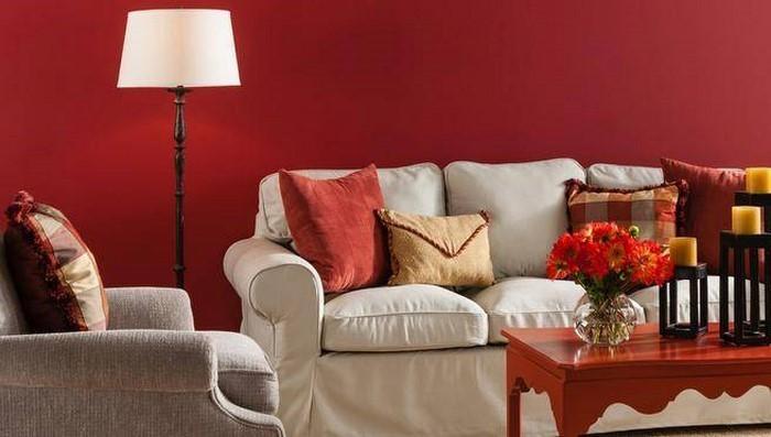 Wohnzimmer-rot-Eine-außergewöhnliche-Deko