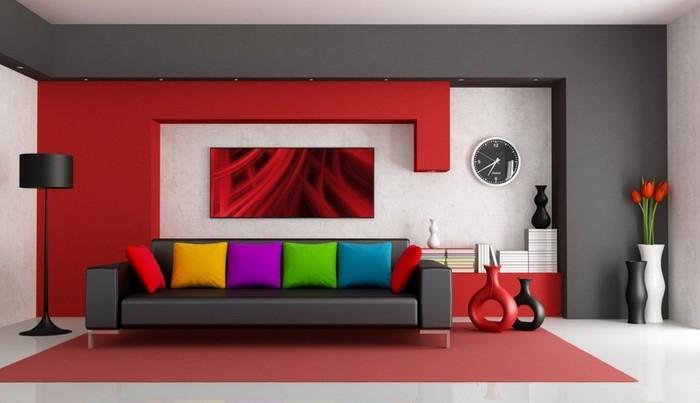 Wohnzimmer Rot Eine Aussergewhnliche Entscheidung