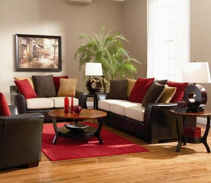 Wohnzimmer-rot-Eine-kreative-Entscheidung