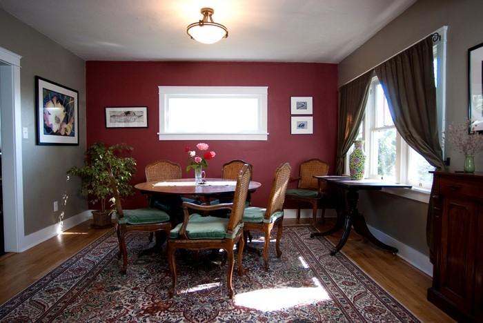 Wohnzimmer-rot-Eine-moderne-Deko