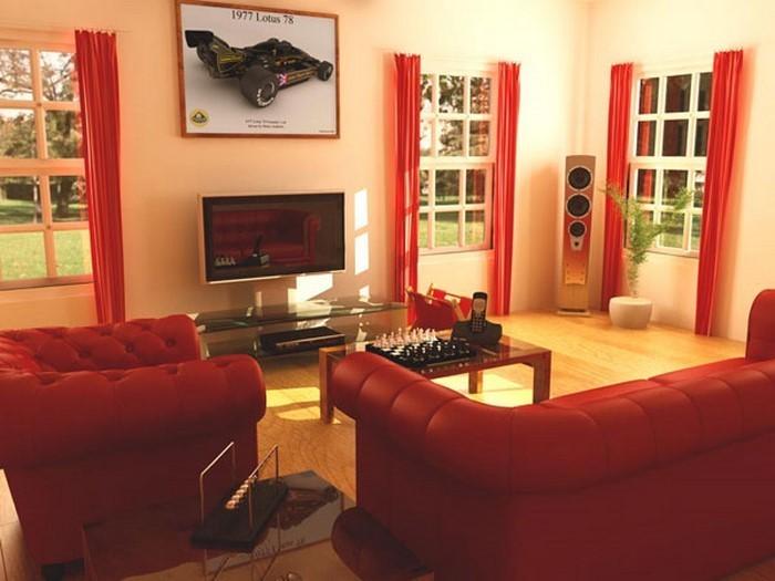 Wohnzimmer Farbgestaltung Rot > Jevelry.Com >> Inspiration Für Die