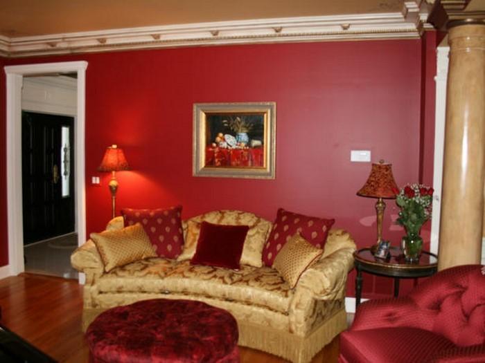 Wohnzimmer-rot-Eine-tolle-Ausstrahlung