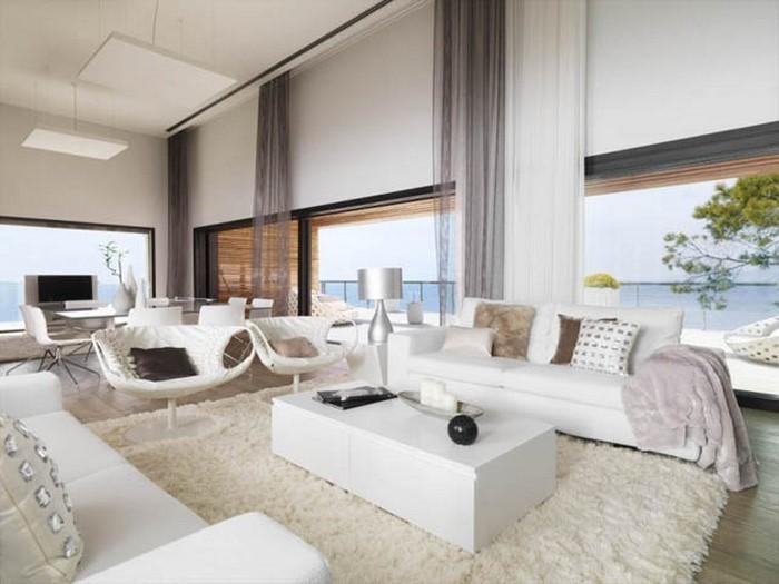 wohnzimmereinrichtung in wei 80 wunderschne ideen wohnzimmereinrichtung idee - Wohnzimmereinrichtung Idee