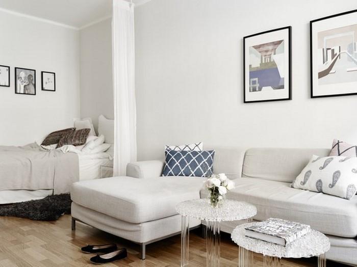 Einrichtungsideen wohnzimmer weiß  Wohnzimmereinrichtung in Weiß: 80 wunderschöne Ideen