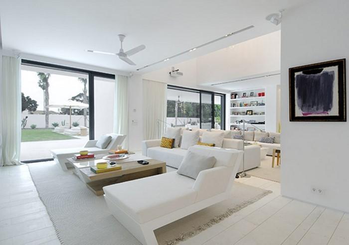 Genial Wohnzimmereinrichtung In Weiß: 80 Wunderschöne Ideen | Wohnzimmer ...