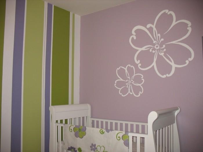 Zimmerdeko-selber-basteln-Blumen-zeichnen