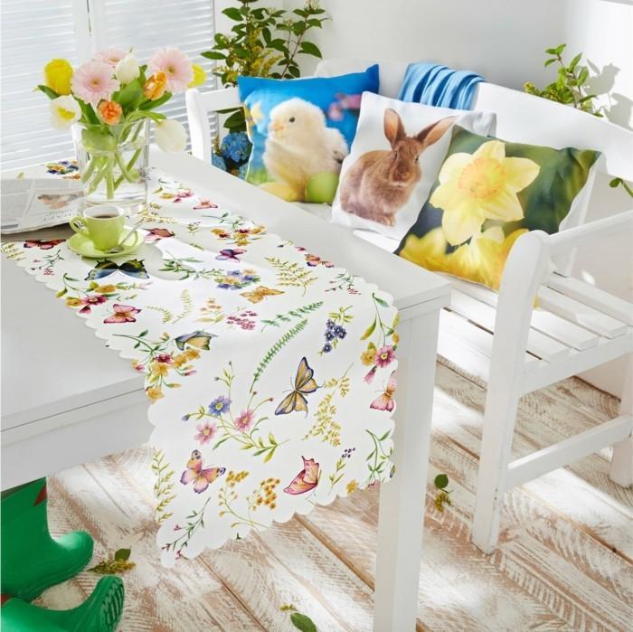 abwaschbare-Tischdecke-Tischlaufer-Spring-von-bonprix