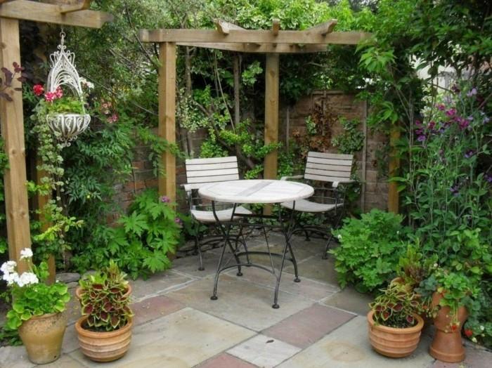 Garten Pergola: Eine Idylle Im Freien - Archzine.net Holz Pergola Rutikal Garten