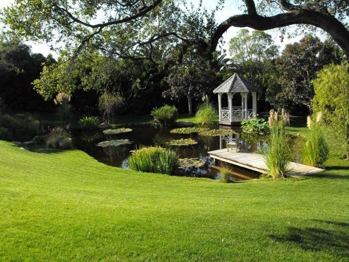 45 tolle Ideen, wie Sie einen Gartenteich anlegen könnten ...