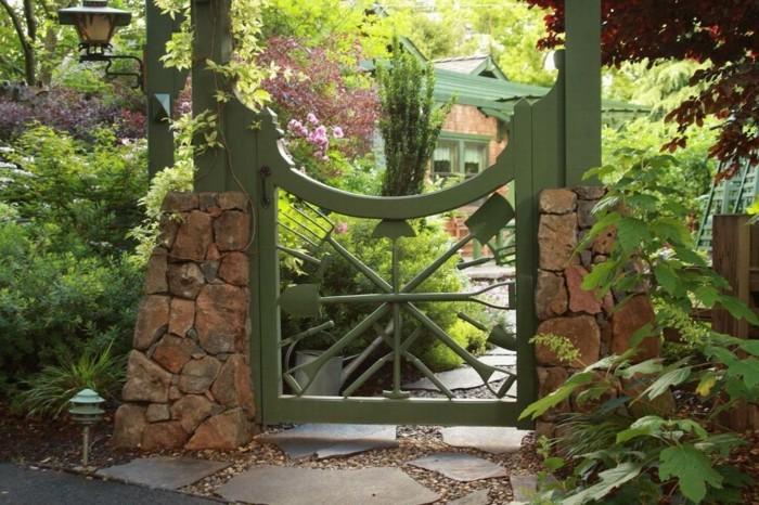 Gartentor Holz Selber Machen ~ gartentor selber bauen noch schöne gartentore aus holz