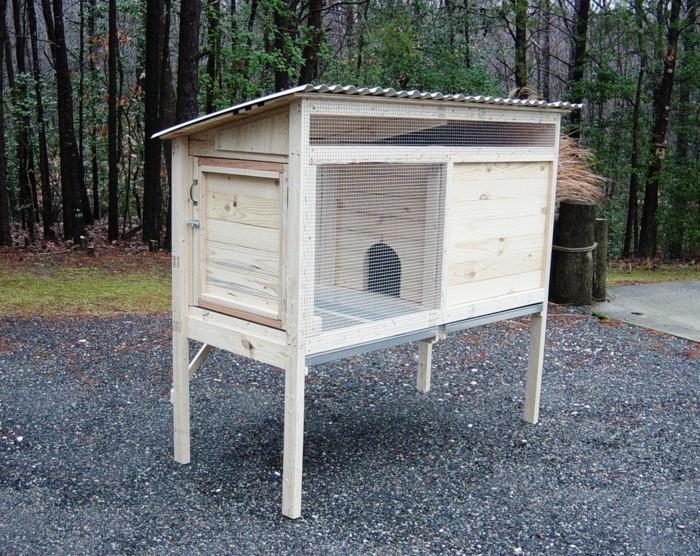 hasenstall selber bauen mehr als 40 ideen und. Black Bedroom Furniture Sets. Home Design Ideas