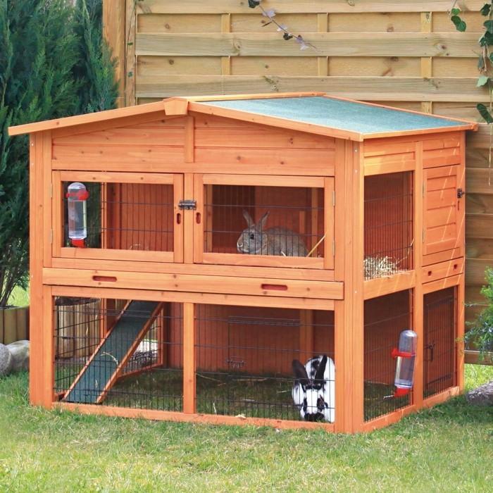 kaninchenstall f r drau en kaninchenstall f r draussen sehr gut erhalten kassel 10318445. Black Bedroom Furniture Sets. Home Design Ideas