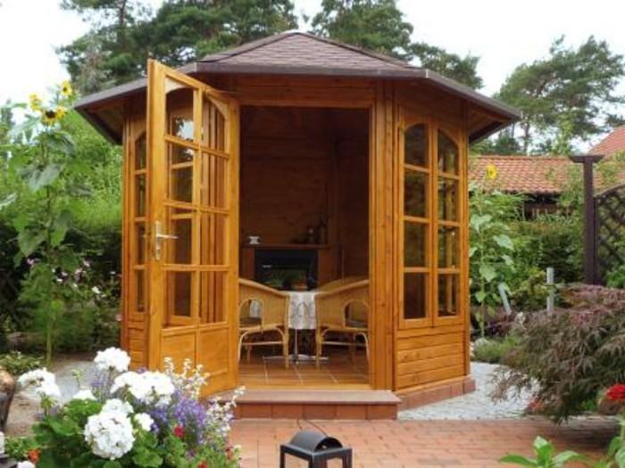 Gartenpavillon aus holz f r jeden garten - Gartenpavillon holz 3x3 ...