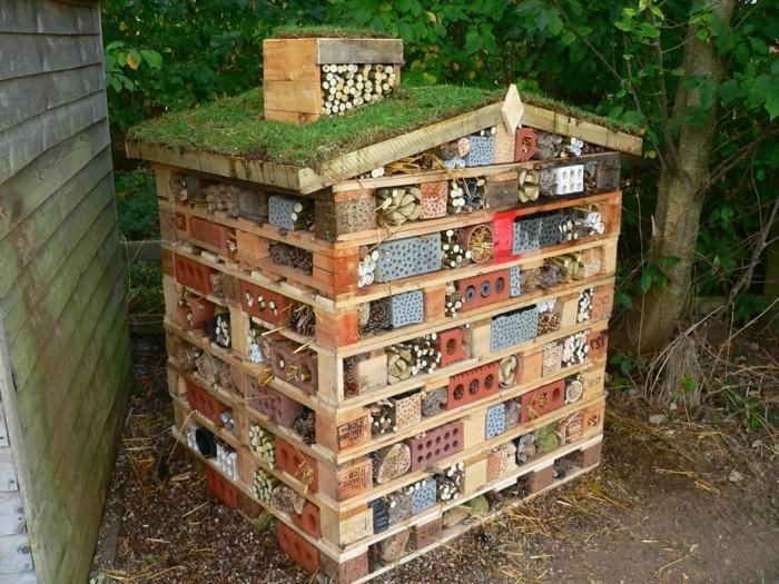 Wildbienenhotel Bauen Anleitung Home Ideen