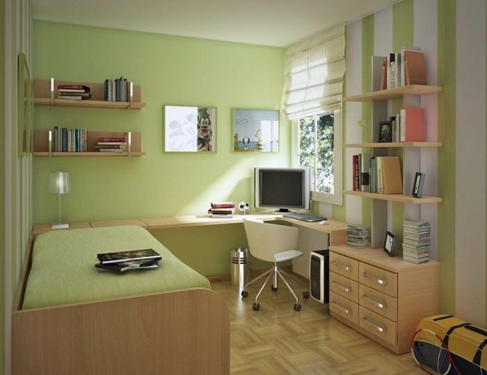kleine-Räume-einrichten-Computer-in-der-Ecke