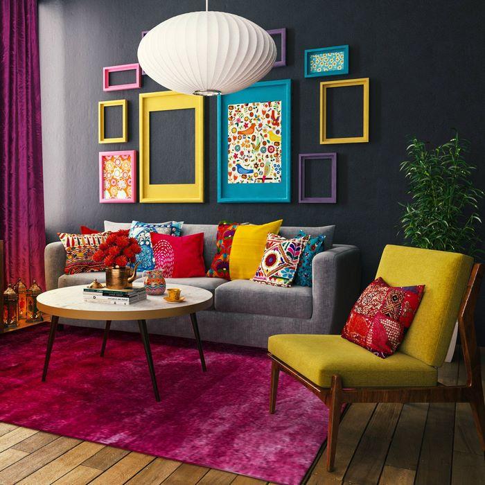 kleine räume einrichten möbel für kleine räume 1 zimmer wohnung einrichten 30 qm wohnzimmer bunt deko ideen farben