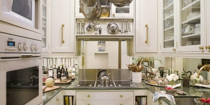kleines-Zimmer-einrichten-eine-kleine-Küche