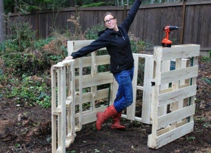 komposter-selber-bauen-idee-für-einen-komposter