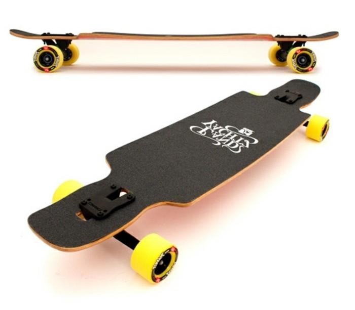 longboard-selber-bauen-gelbe-longboard-rollen