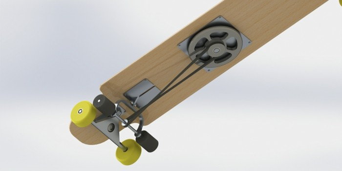 longboard-selber-bauen-gelbe-rollen-für-ihr-longboard