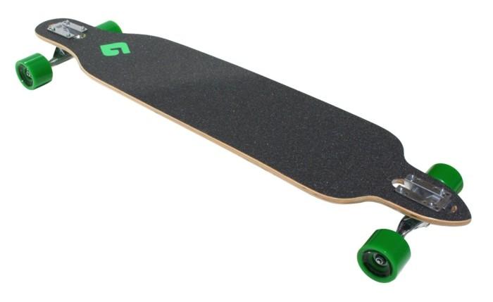 longboard-selber-bauen-grüne-longboard-rollen