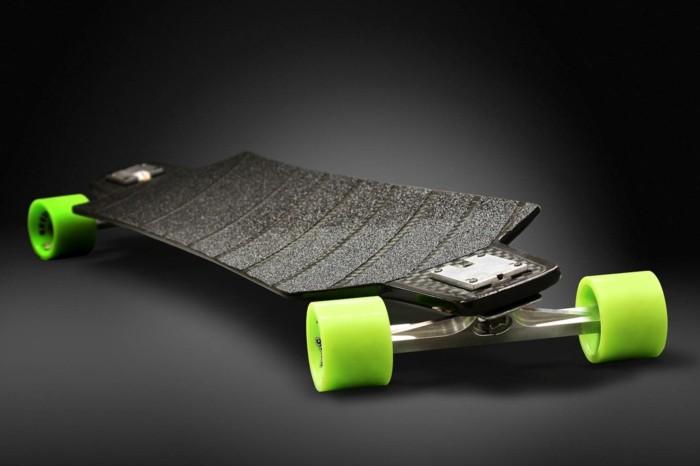 longboard-selber-bauen-grüne-rollen-für-ihr-longboard