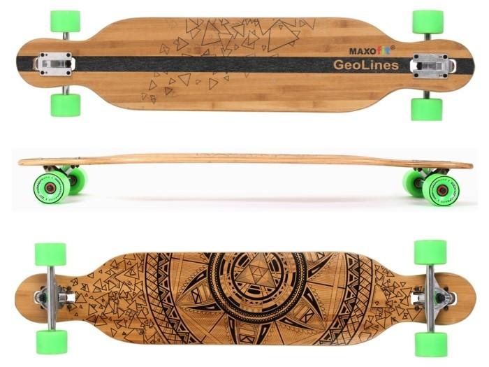 longboard-selber-bauen-mit-grünen-longboard-rollen-ein-longboard-selber-bauen