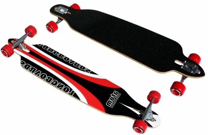 longboard-selber-bauen-rote-longboard-rollen