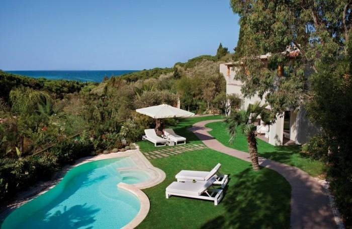 160 Tolle Bilder Von Luxus Pool Im Garten ...