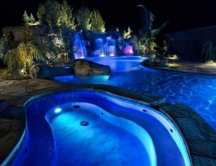 Bevorzugt 160 tolle Bilder von Luxus Pool im Garten - Archzine.net WB94