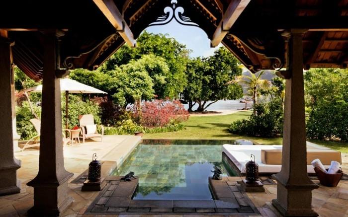 160 tolle bilder von luxus pool im garten - archzine, Garten und Bauen