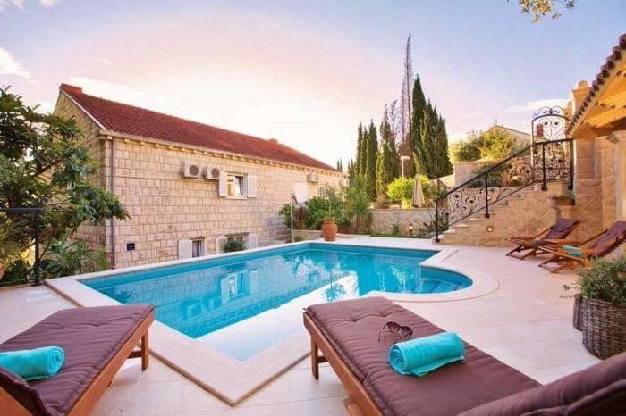 160 tolle bilder von luxus pool im garten for Pool gestaltungsideen