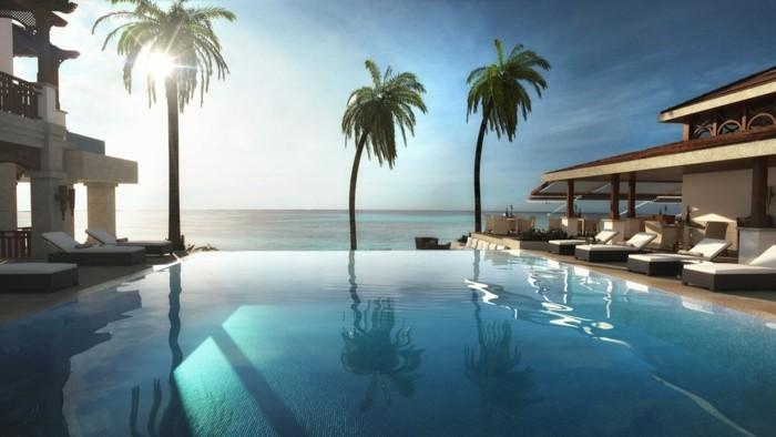 luxus-pool-schön-aussehendes-luxus-ferienhaus-mit-pool