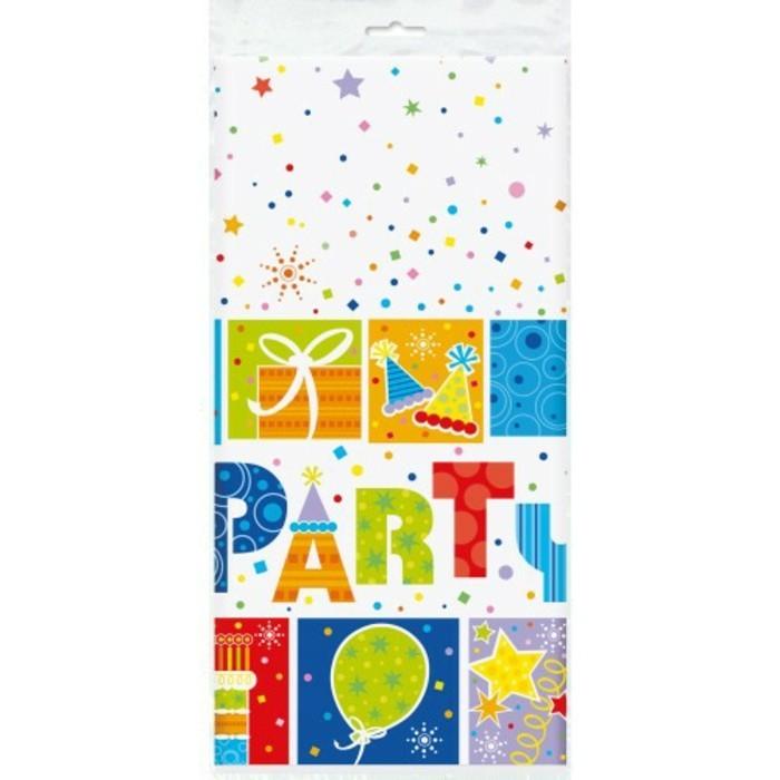 party-tiscdecke-von-playflip-mit-Aufschrift