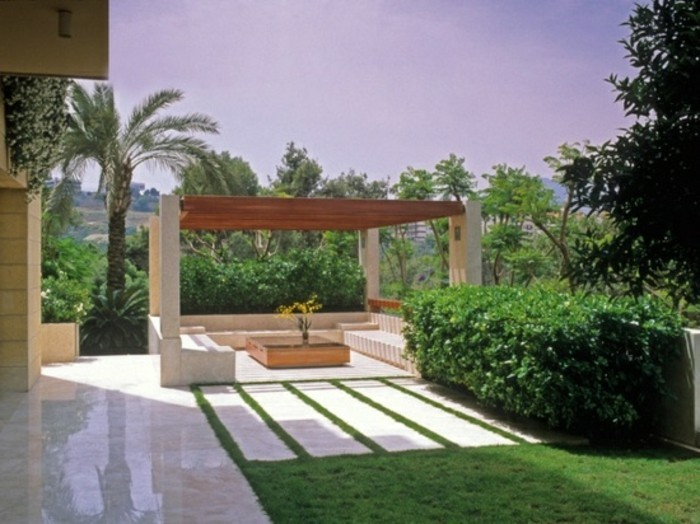 patio-pergola-design-ideen-schöne-gartengestaltung
