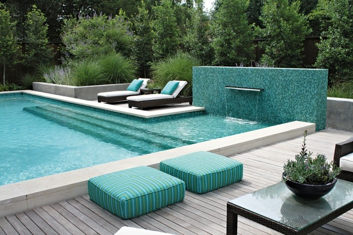 Pool Fliesen für ein modernes Schwimmbecken Archzine