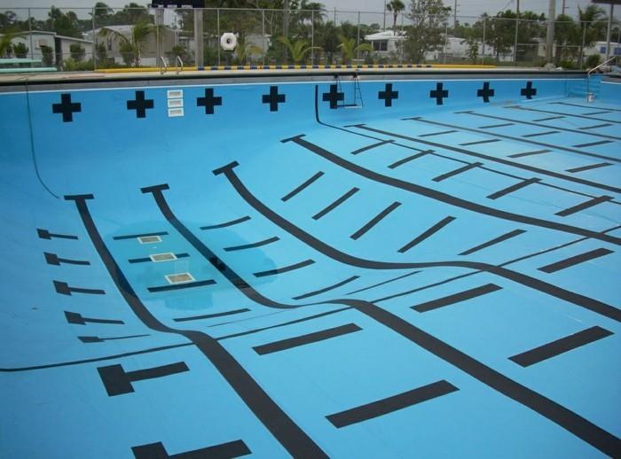 Bevorzugt Pool Fliesen für ein modernes Schwimmbecken - Archzine.net WS69